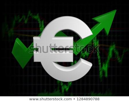 Európai Európa gazdasági globális rally szimbólum Stock fotó © Lightsource