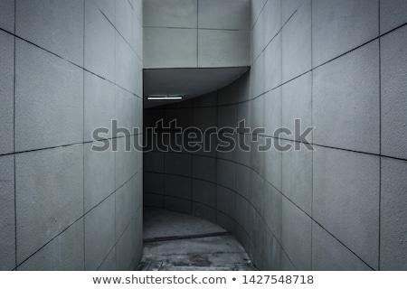concretas · subterráneo · carretera · aparcamiento · garaje · interior - foto stock © lightpoet