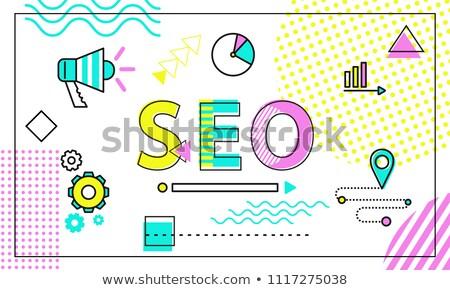 Seo tool plaats promotie beter zichtbaarheid Stockfoto © robuart