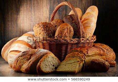 választék · élelmiszer · termékek · zöldség · gyümölcsök · hús - stock fotó © ruslanshramko