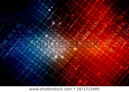 Business bestanden usb dollar illustratie financiële Stockfoto © lenm