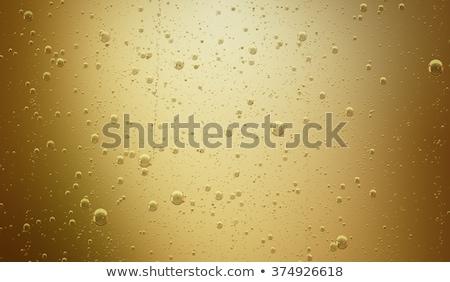 エレガントな · ガラス · 黄色 · シャンパン · 泡 · 白 - ストックフォト © DenisMArt