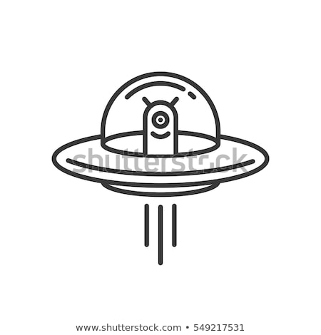 alien ufo icon vector Stock photo © blaskorizov