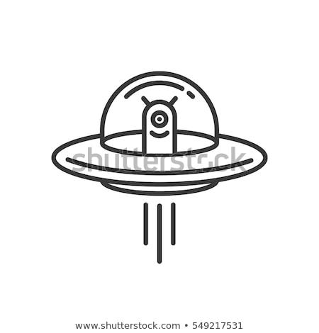 űr · támadás · UFO · pop · art · retro · idegen - stock fotó © blaskorizov