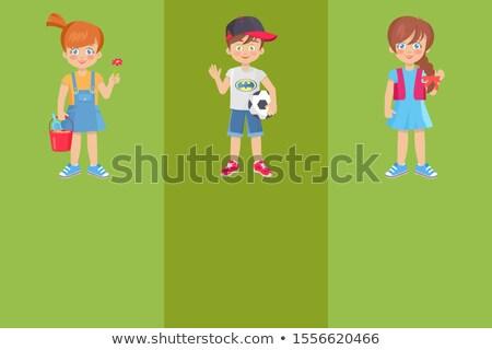 oynamak · örnek · çocuklar · çocuk · gemi - stok fotoğraf © robuart