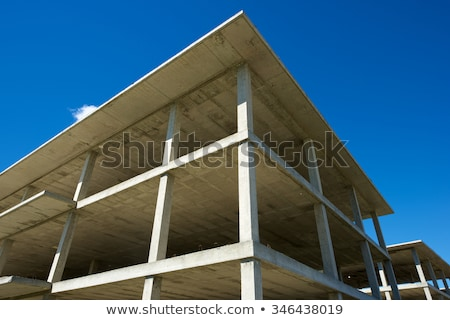 reinforcement concrete wall corner Stock photo © romvo