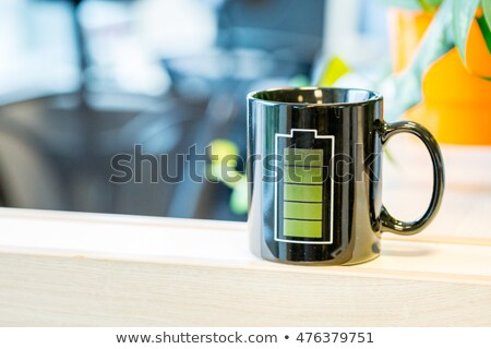 Charging the battery, single icon. Stock photo © smoki