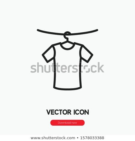 giysi · şablon · tshirt · şablonları · moda - stok fotoğraf © robuart