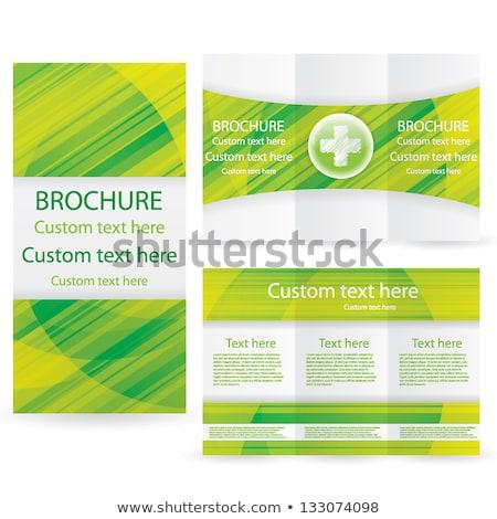 capsule · medische · grafisch · ontwerp · sjabloon · vector · hart - stockfoto © haris99