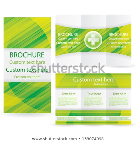 Kapszula orvosi grafikai tervezés sablon vektor szív Stock fotó © haris99
