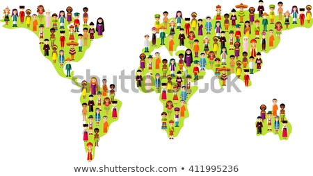 Boy with happy face in different costumes Stock photo © bluering