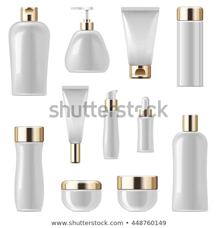 Vector Unlabeled Cosmetic Packaging Set 3 Stock photo © dashadima