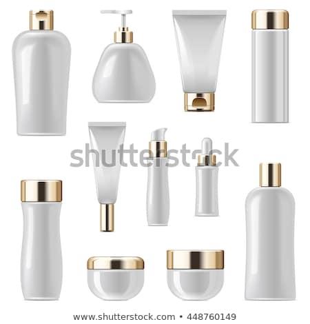 kozmetikai · üvegek · szett · vektor · üres · műanyag - stock fotó © dashadima