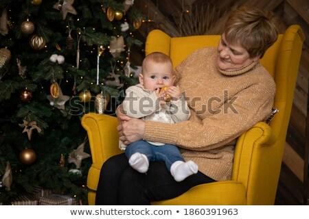 бабушки · девочку · чтение · книга · счастливым · вместе - Сток-фото © choreograph