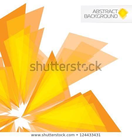 Creativo geometrica sole raggi fuori lineare Foto d'archivio © kyryloff