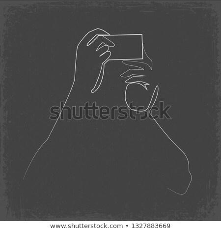 Vrouw poseren alleen persoon foto Stockfoto © robuart