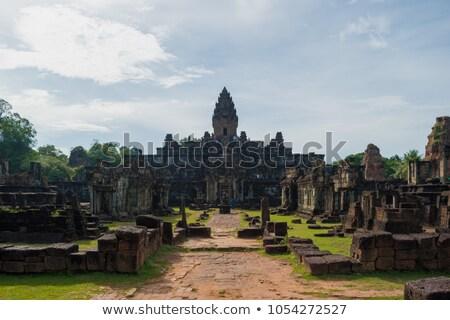Cambodia - Angkor - Bakong Stock photo © raywoo