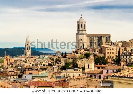 Katedral Gotik kilise dua Tanrı Stok fotoğraf © arocas
