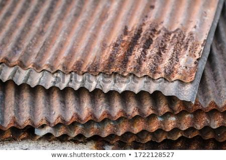 corrugated iron Stock photo © magann