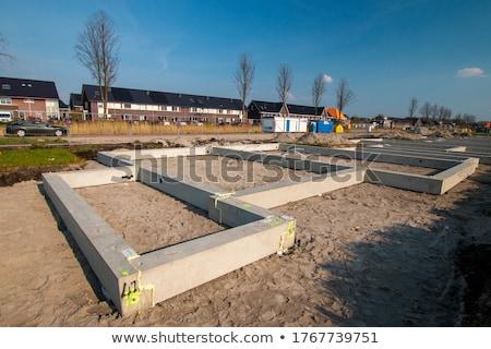 bouw · vloer · vliering · buiten · werk - stockfoto © calek