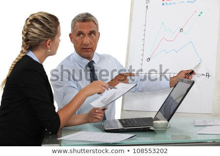 Business professionals making previsions Stock photo © photography33