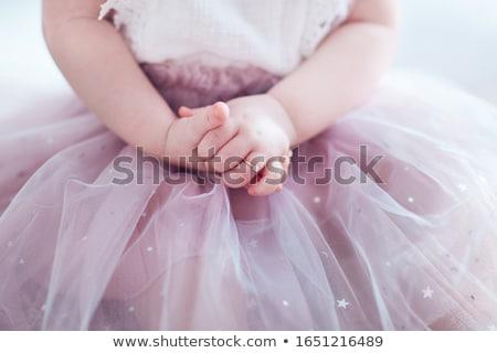 pequeno · anjo · fadas · sorridente · menina - foto stock © photography33