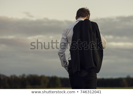 Businessman staring at the ground Stock photo © photography33