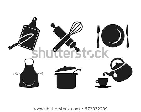 black kitchen pitcher Stock photo © shutswis