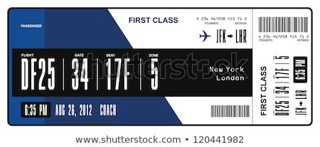 Two boarding passes Stock photo © Hofmeester