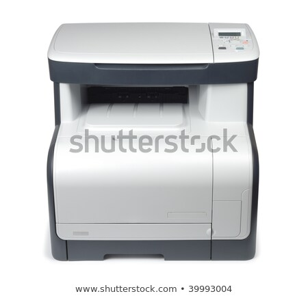 new style scanner printer xerox office device isolated Stock photo © shutswis