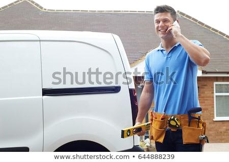 Güvenilir tamir telefonlar tüm iş telefon Stok fotoğraf © OleksandrO