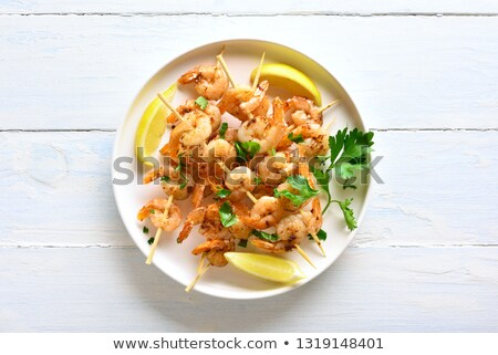 seafood skewers stock photo © ozgur