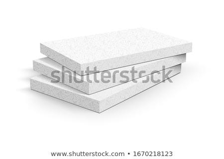 schiuma · isolamento · materiale · efficienza - foto d'archivio © olivier_le_moal
