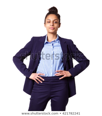 Successful businesswoman standing with her hands on the hip Stock photo © wavebreak_media