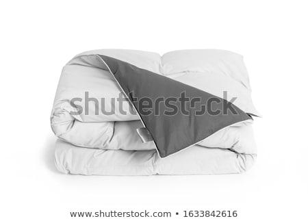 Folded duvet Stock photo © trgowanlock