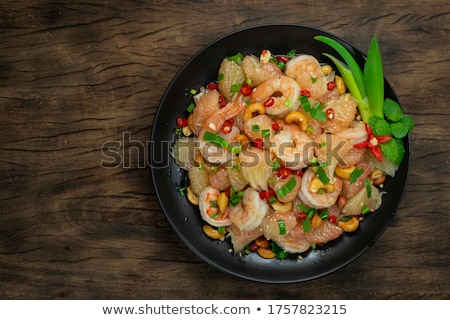 pomelo salad in thailand Stock photo © travelphotography