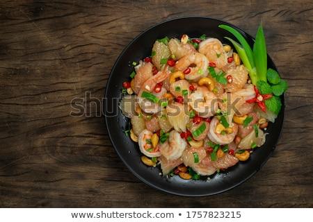 Salada Tailândia salada de frango fruto Ásia vegetal Foto stock © travelphotography