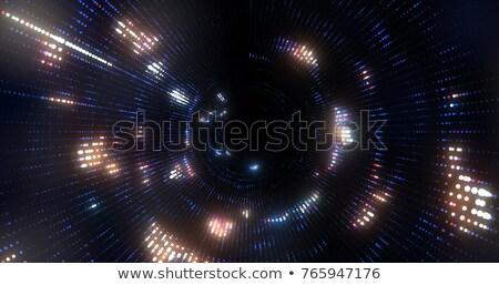Abstract draaikolk textuur zachte lijnen zwarte Stockfoto © kentoh