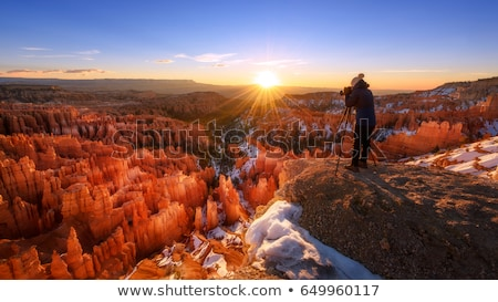 sunrise in bryce canyon stock photo © meinzahn