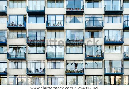 binalar · Santiago · Şili · güney · amerika · şehir · inşaat - stok fotoğraf © fxegs