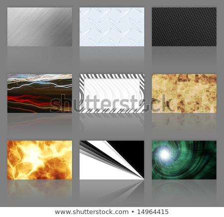Nine Business Cards Assortment Stock photo © ArenaCreative
