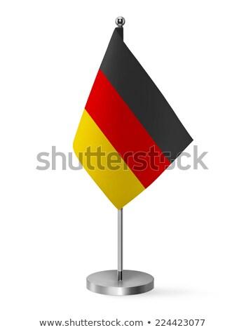 ミニチュア フラグ ベルリン 孤立した 白 ストックフォト © bosphorus