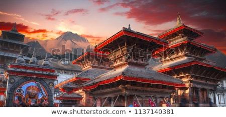 stad · oneindig · Nepal · bergen · achter · asia - stockfoto © chrisdorney
