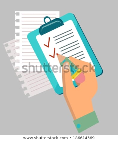 Flat design concept icons of have to do list Stock photo © Elmiko