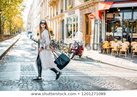 Woman in Paris Stock photo © isaxar