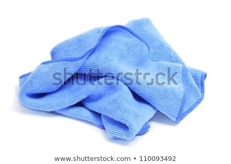 Paar een roze ander Blauw Stockfoto © nito
