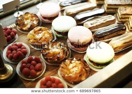 french pastry stock photo © m-studio