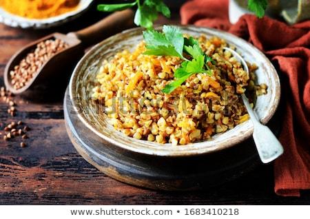 Buckwheat Stew Stock photo © zhekos