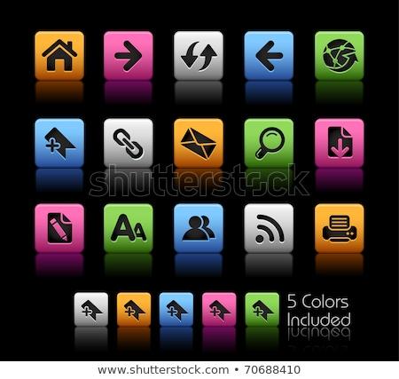 sympathiek · web · design · lay-out · verschillend · ingesteld - stockfoto © liliwhite