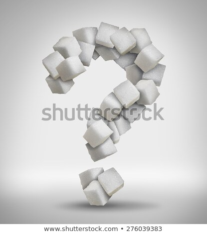 Sugar Question Stock photo © Lightsource